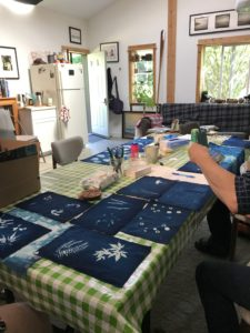 cyanotypes on fabric 2